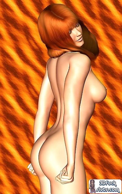 Toon girl naked poses - part 7