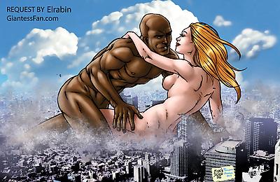 Giantess fetish porn - part 6